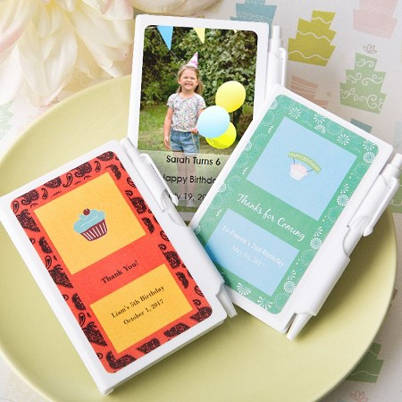 Personalized NoteBook Favors-Celebrate