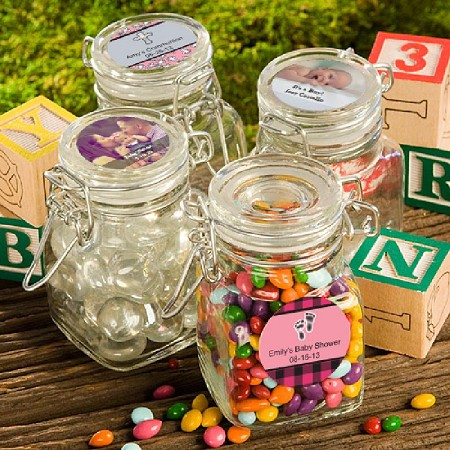 Personalized Apothecary Jars-Baby