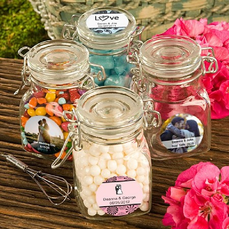 Personalized Apothecary Jars