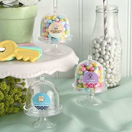 Personalized Mini Cake Stand / Plastic Box-Baby
