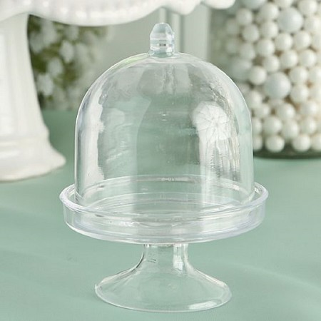 Perfectly Plain Mini Cake Stand /Plastic Box