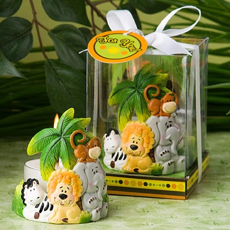 Jungle Critters Collection Candles
