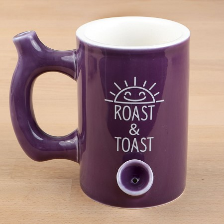 Plum Color Glossy Premium Roast & Toast Mug