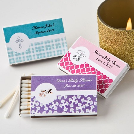 Baby Personalized Matchbox Favor (Pack Of 50)