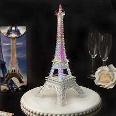 Eiffel Tower Centerpiece In Clear Acrylic Plastic