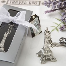 Eiffel Tower Metal Key Chains From Fashioncraft
