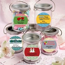 Design Your Own Mini Paint Cans Favors-Holiday