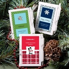 Personalized NoteBook Favors-Holiday