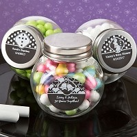 Chalk Board Collection Candy Glass Jar
