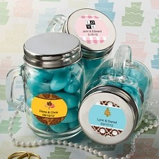 Personalized Glass Mason Jars