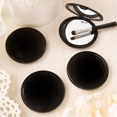 Black Compact Mirror Perfectly Plain Collection