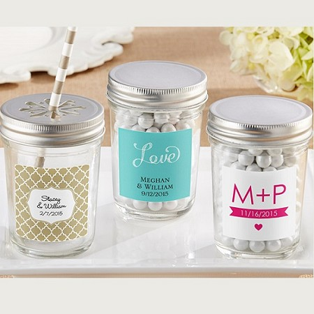 Mason Jar with Your Choice of Lid (Set of 12)-Kate Aspen