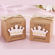 Little Princess Kraft Favor Box (Set of 24)