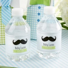 Personalized Water Bottle Labels- Little Man