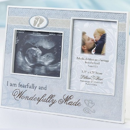 Wonderfully Made Ultrasound Frame-Blue