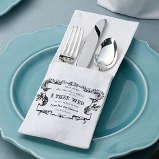 True Love Silverware Holders Set of 4