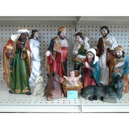 Holy Family Complete Nativity Set