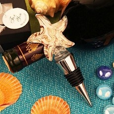 Starfish Arte Murano Bottle Stopper