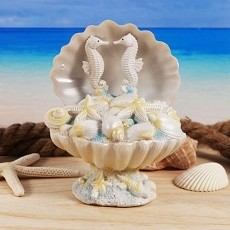 Treasures of the Sea Seashell Centerpiece