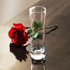 Weighted Glass Bud Vase 8