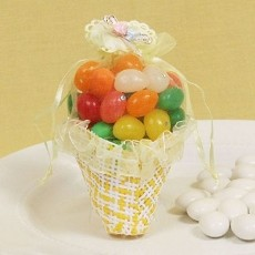 Lovely Basket Basket Favor (4 colors)