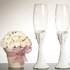 Fairytale Theme Toasting Glasses