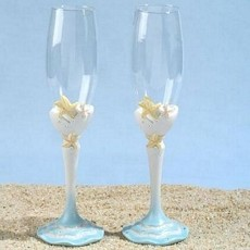 Starfish Toasting Glasses Set