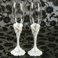 Eleganza Collection Toasting Glasses set