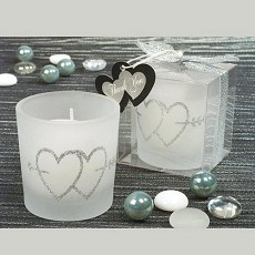 Candle w/Hearts