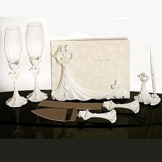 Bride and Groom Calla Lilies Set